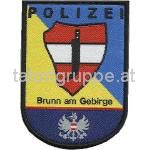 Polizeiinspektion Brunn am Gebirge (gewebt)